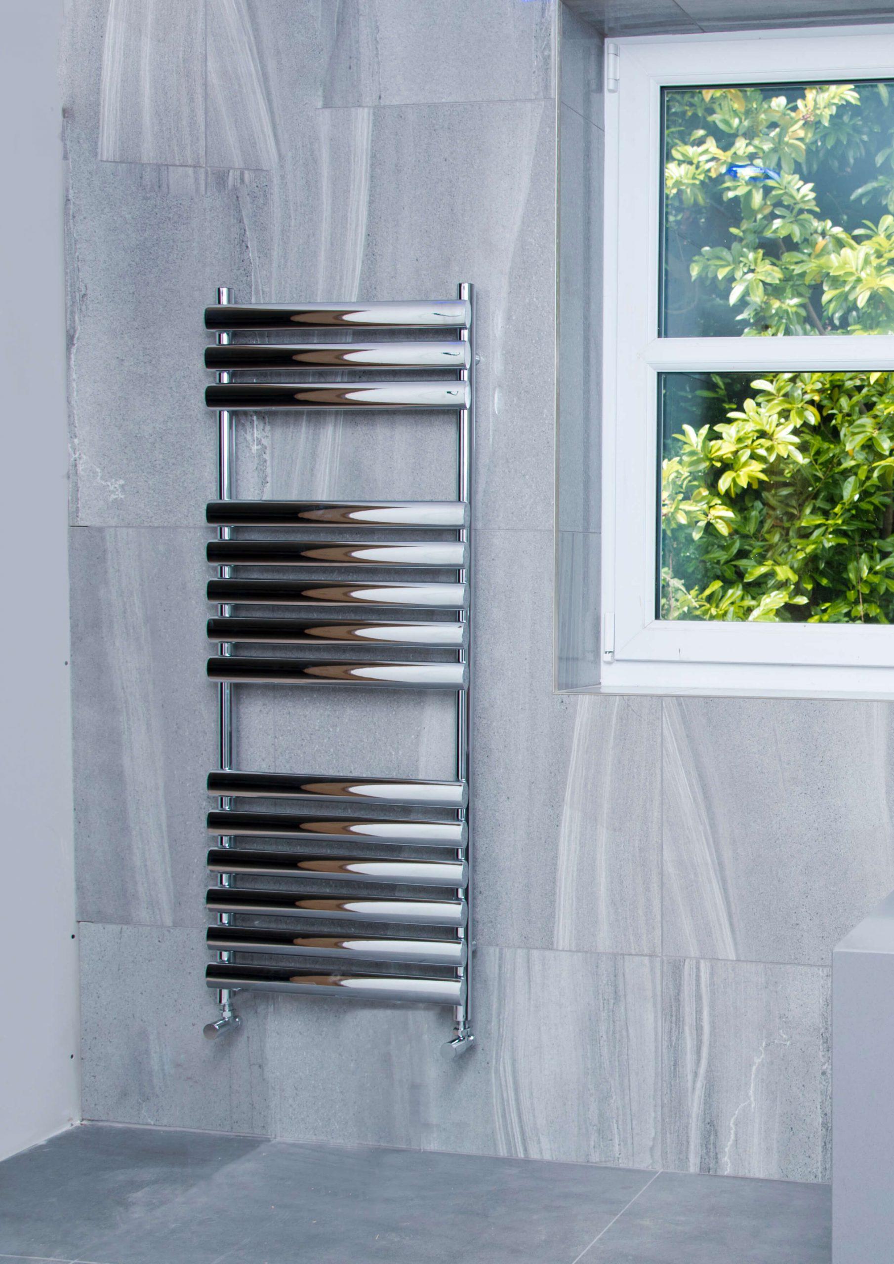 Towelrads Dorney Towel Rail Chrome - The Designer Radiator ...