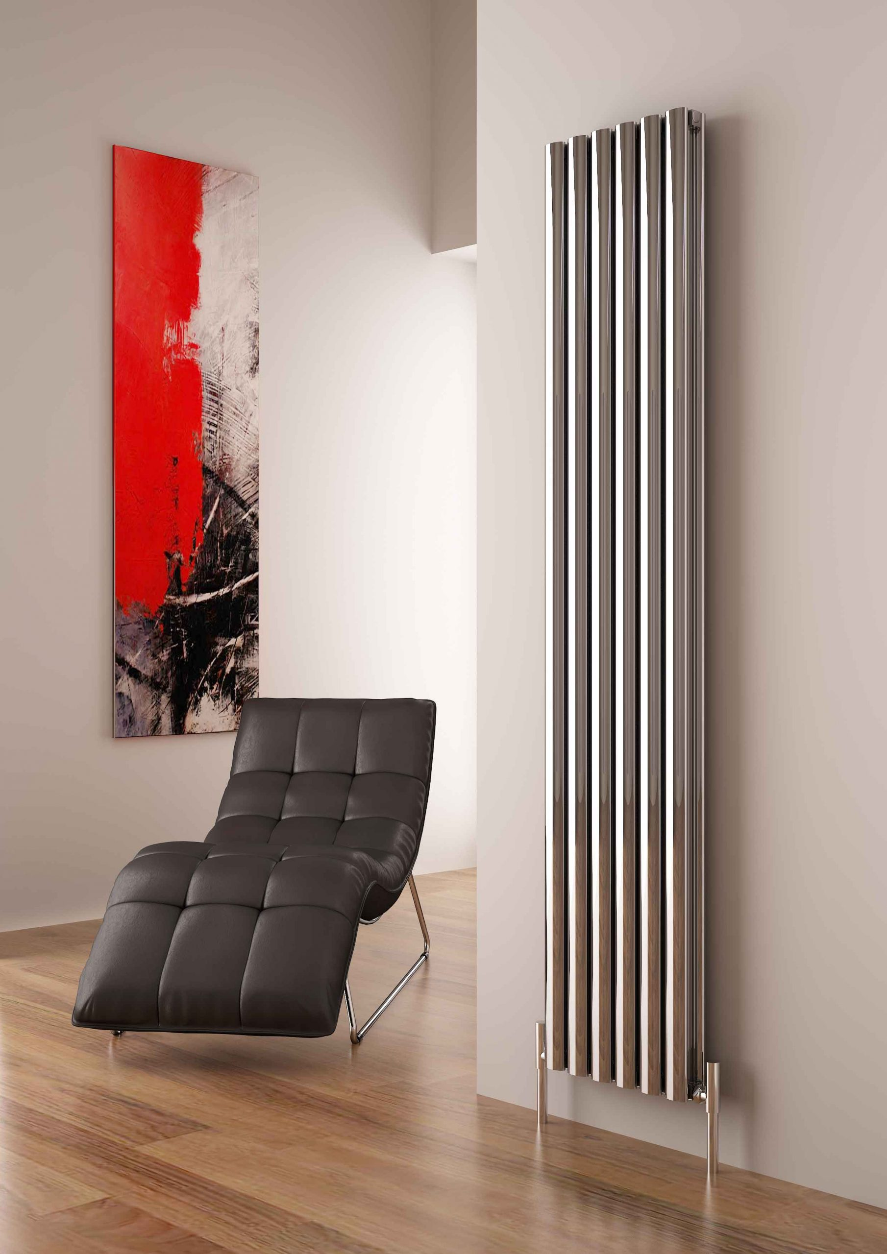 Carisa Tallis Double Vertical The Designer Radiator Company